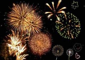 gott nytt år fireworks